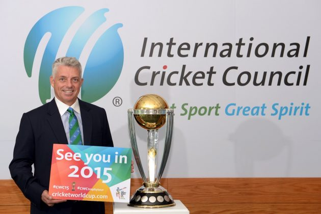"David Richardson says ICC Cricket World Cup 2015 will be ""bigger and better"" than ever - Cricket News"