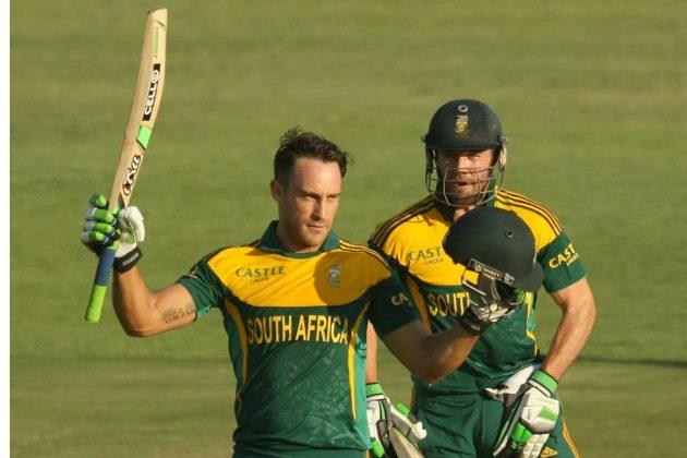 De Villiers, du Plessis steer South Africa home - Cricket News