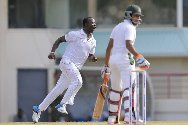 Roach five-for puts West Indies on top - Cricket News