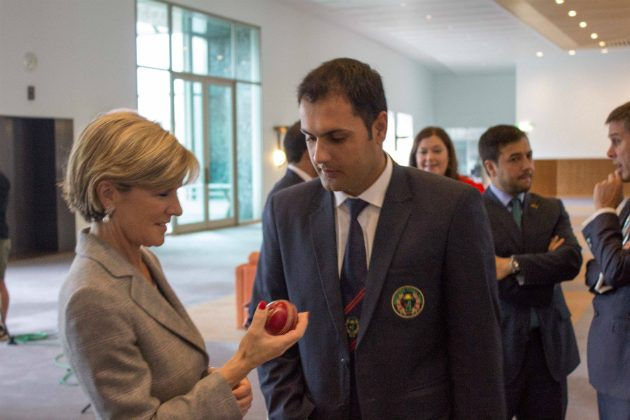Afghanistan meets with Australia Minister for Foreign Affairs - Cricket News