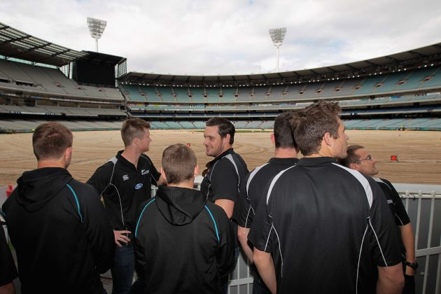 New Zealand team visits Melbourne - Cricket News