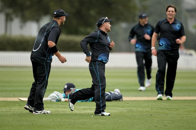 New Zealand XI squeeze home in a last ball thriller v Scots - Cricket News
