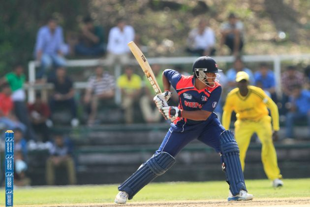 Gyanendra Malla ton powers Nepal to victory over Singapore - Cricket News