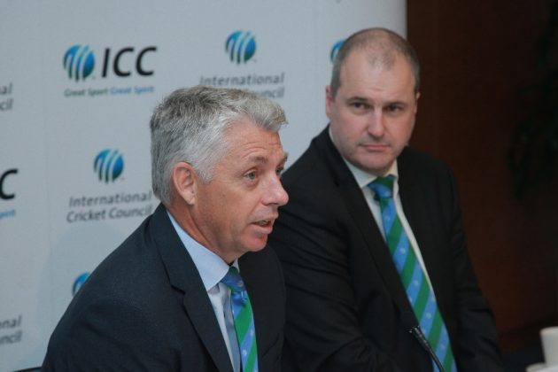 David Richardson and Geoff Allardice hold media briefing at ICC HQ - Cricket News