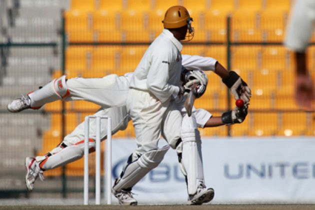 Uganda batsmen take firm control - Cricket News