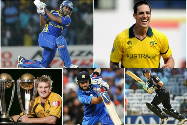 ICC announces star-studded line-up of Ambassadors for ICC Cricket World Cup 2015 - Cricket News