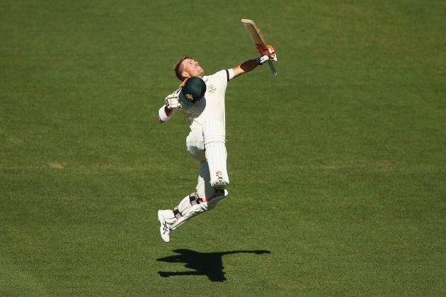Australia pulls ahead after Warner ton - Cricket News