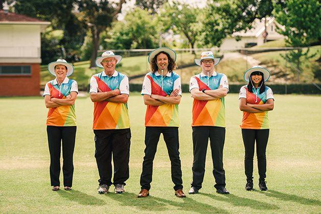 Volunteer uniform unveiled to mark 50 days to go - Cricket News