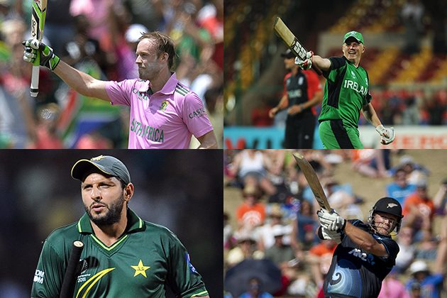Record Breakers on display at #cwc15 - Cricket News