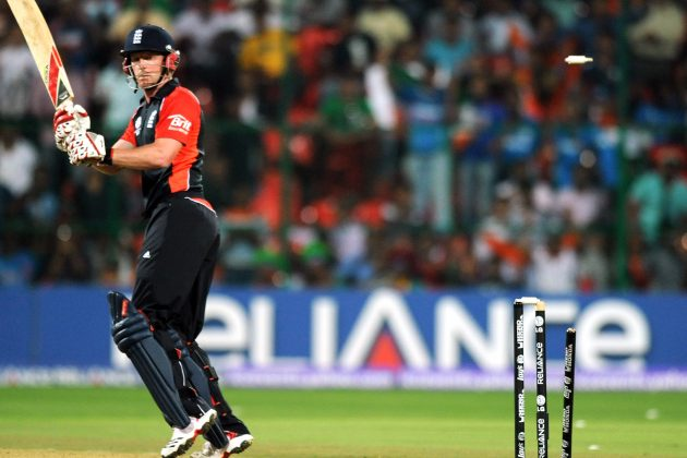 PAUL COLLINGWOOD: England threatened but never delivered
