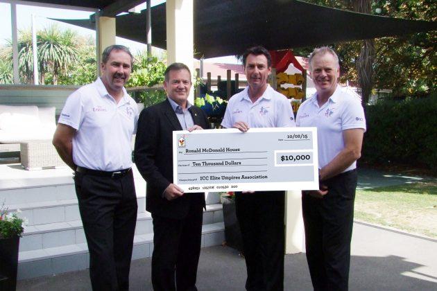 Emirates Elite Panel of ICC Umpires support Australia and New Zealand charities - Cricket News