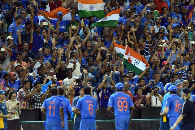 Indian fans enjoy Melbournian party at the 'G - Cricket News