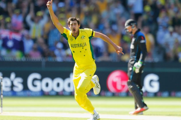 Mitchell Starc named as player of the ICC Cricket World Cup 2015 - Cricket News