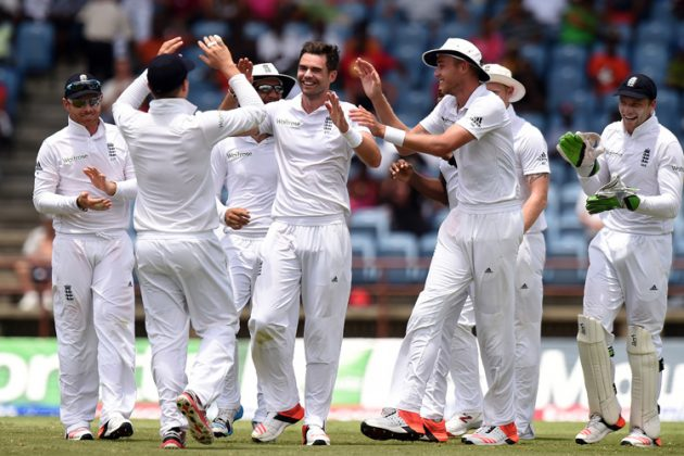 Anderson helps England take 1-0 lead - Cricket News