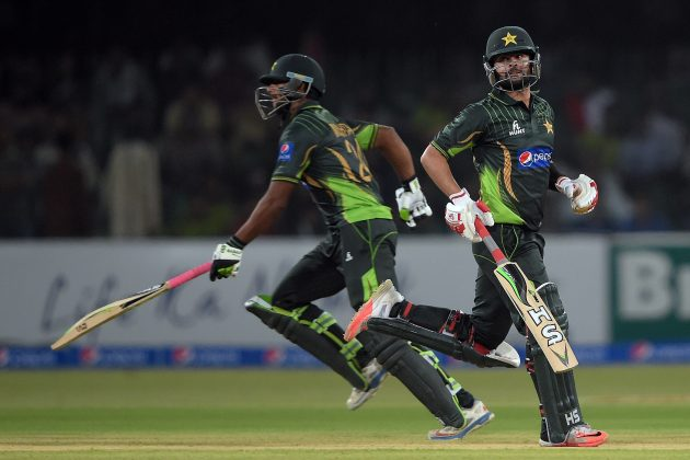 Mukhtar, Shehzad headline Pakistan celebrations - Cricket News