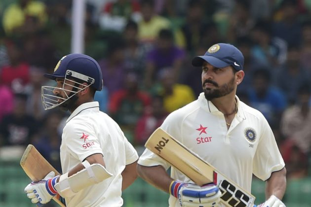 Vijay, Rahane dominate on rainy day - Cricket News