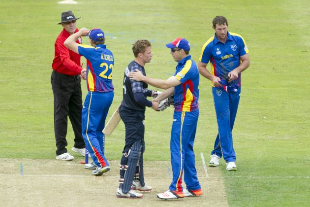 Hong Kong holds nerve, Scotland opens with win - Cricket News