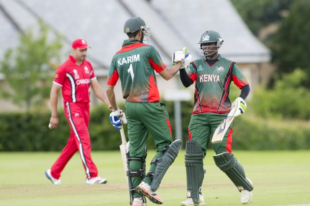 Karim fifty fires Kenya to victory - Cricket News