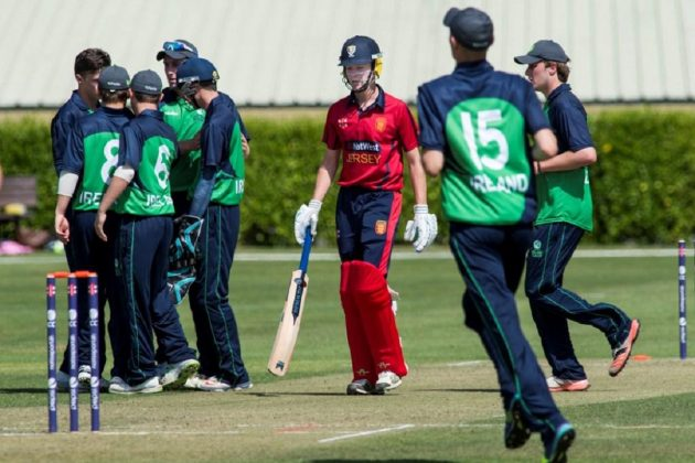 Ireland top table after opening day victory against Jersey at Pepsi ICC Europe U19 Division 1 - Cricket News
