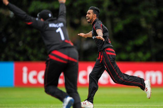 Amjad stars in Hong Kong's first win - Cricket News