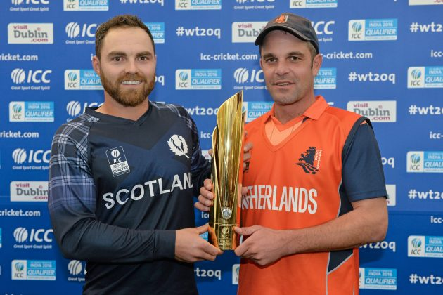 Scotland and Netherlands share title after final is rained out