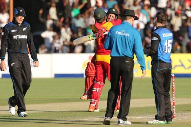 Ervine stars in big Zimbabwe win - Cricket News