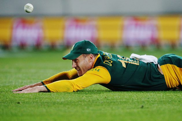 Du Plessis fined for breaching ICC Code of Conduct - Cricket News