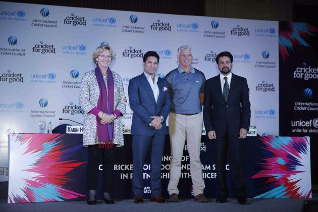ICC launches Cricket for Good & Team Swachh campaign in partnership with UNICEF and BCCI - Cricket News