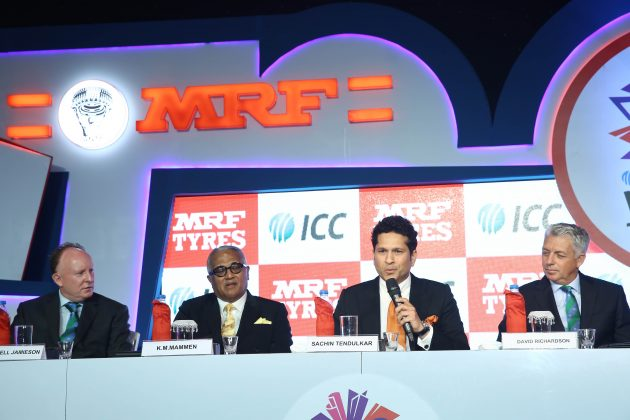 ICC announces MRF Tyres as Global Partner - Cricket News