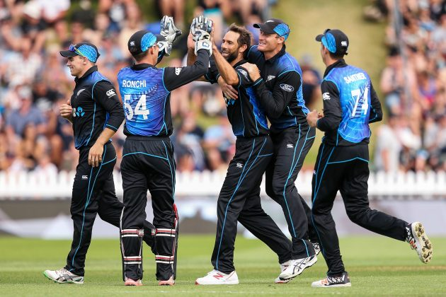 ​​Nicholls, bowlers power New Zealand home - Cricket News
