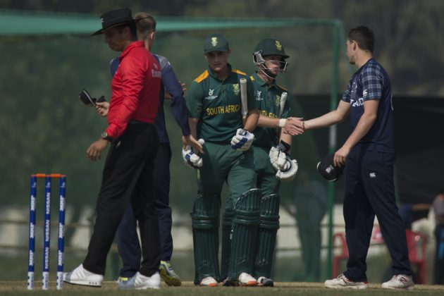 South Africa U19 registers first victory - Cricket News