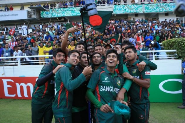 Bangladesh in delirium as Under-19 boys make last four - Cricket News