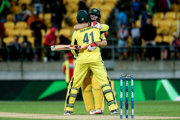 Warner blitz helps Australia draw level  