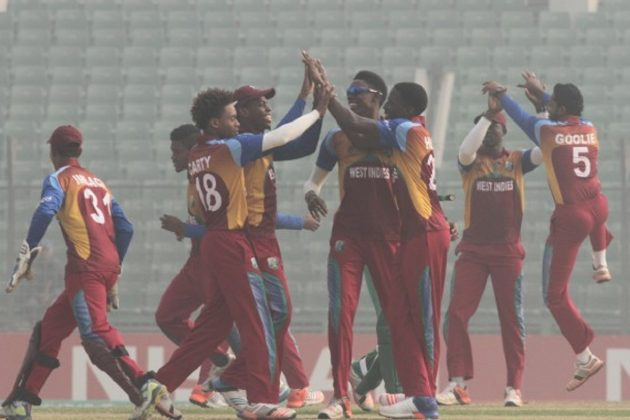 Holder leads clinical West Indies U19 to semi-final