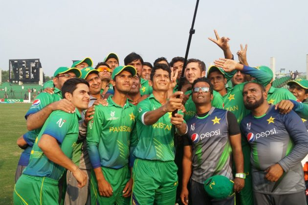 Zeeshan's 93 and Saif's 75 not out helps Pakistan finish fifth