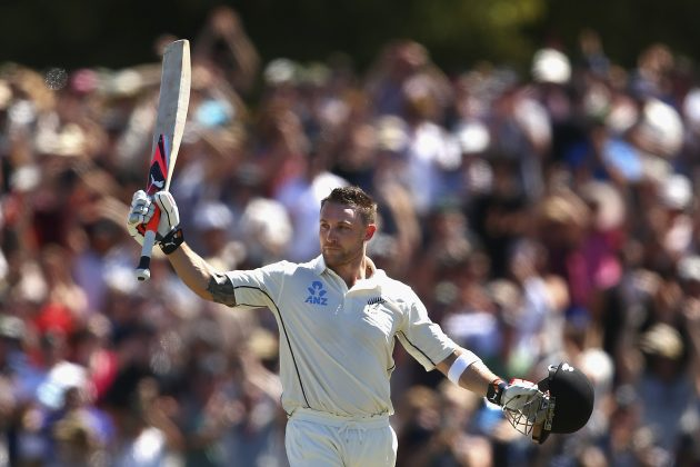 New Zealand posts 370 after McCullum's record ton  - Cricket News