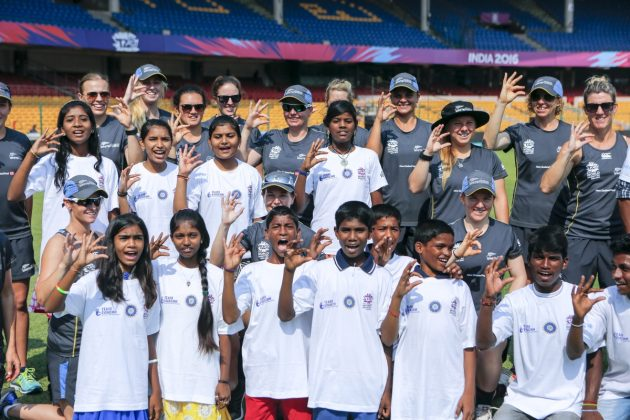 ICC Cricket For Good and Team Swachh clinic with the New Zealand White Ferns - Cricket News