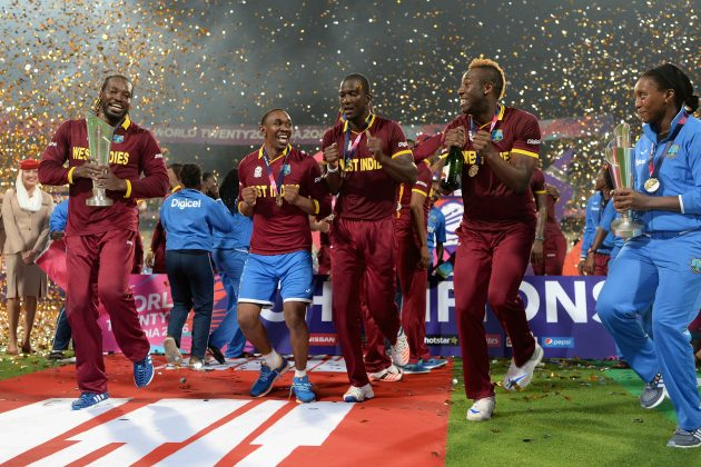 ICC World Twenty20 champion West Indies breathing down India's neck