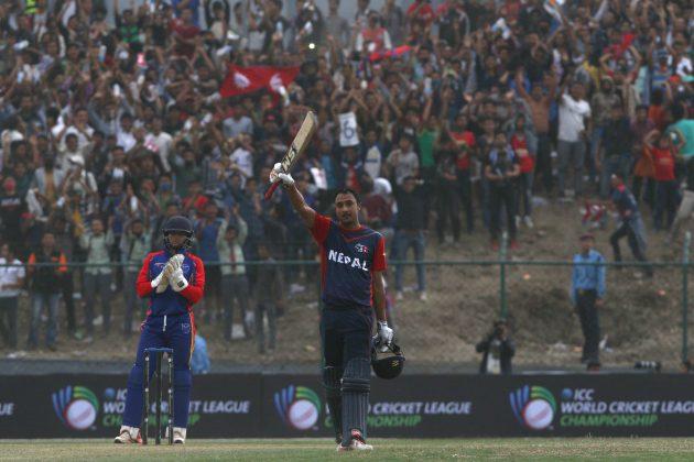 Khadka, Vesawkar help Nepal clinch narrow win over Namibia - Cricket News