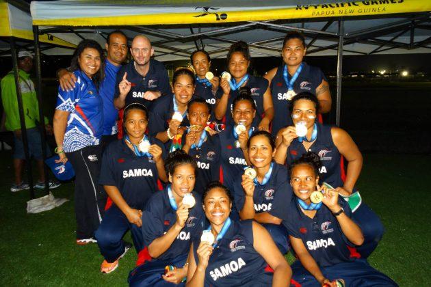 Samoa's golden girls go for glory at home - Cricket News