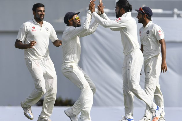 West Indies strong after Ashwin-Saha show - Cricket News