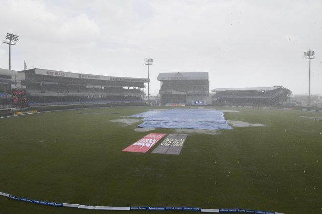Wet outfield rules out play on second day - Cricket News