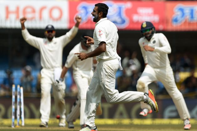 India tighten stranglehold over New Zealand