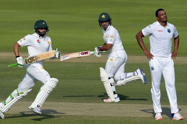 West Indies crumble after Misbah's near miss