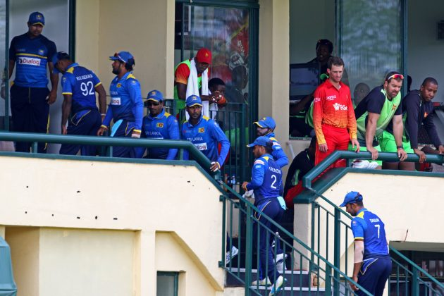 West Indies lose 3 wickets in last over to tie with Zimbabwe