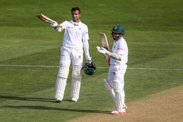 Shakib 217 studs Bangladesh's 542/7 - Cricket News