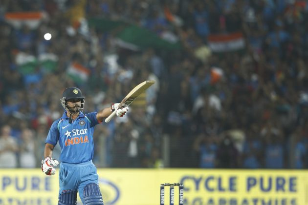 Kohli dazzles, Jadhav sparkles as India hunts down 350 - Cricket News