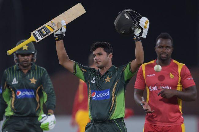 Pakistan captain Azhar Ali scores a century.