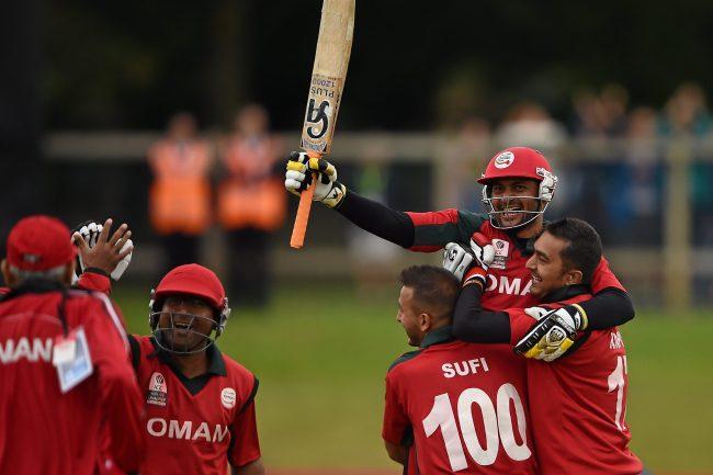 Oman v Namibia, Playoff 4