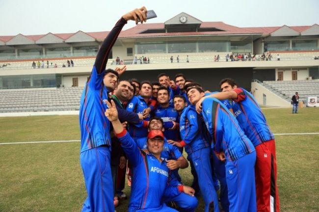 Afghanistan takes the winning selfie.